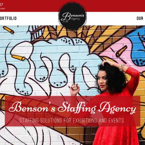 Benson's Agency Responsive Website Design