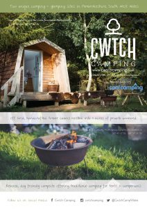 Cwtch Camping Poster