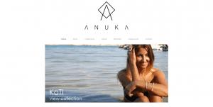 Anuka Jewellery Online Shop Home Page