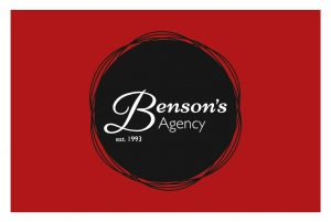 Bensons Agency Business Cards