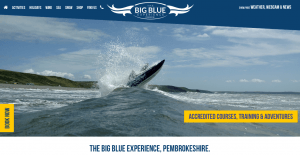 The Big Blue Experience Responsive Website Design