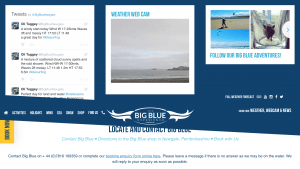 The Big Blue Experience was established in 2001 at Newgale in Pembrokeshire, Wales. Located within the Pembrokeshire Coast National Park, Big Blue is a comprehensive adventure centre offering a wide range of lessons and experiences for individuals, families and groups from beginners to the more advanced in Kite Sports, Surfing, SUP, Kayaking, Powerboating and Coasteering.