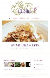 Celestial Bakes Responsive Website Design