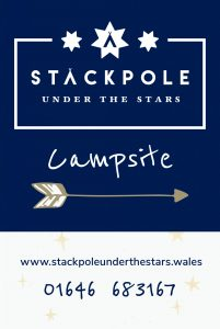 Stackpole Under the Stars A-Frame Sign
