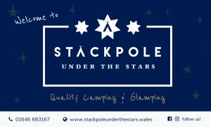 Stackpole Under the Stars Welcome Sign